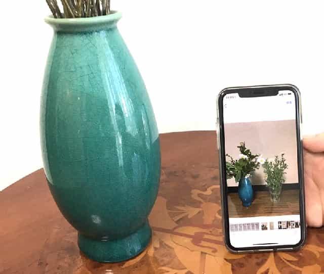 花瓶のシンクロ